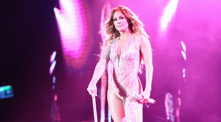 Jennifer Lopez'den unutulmaz konser!