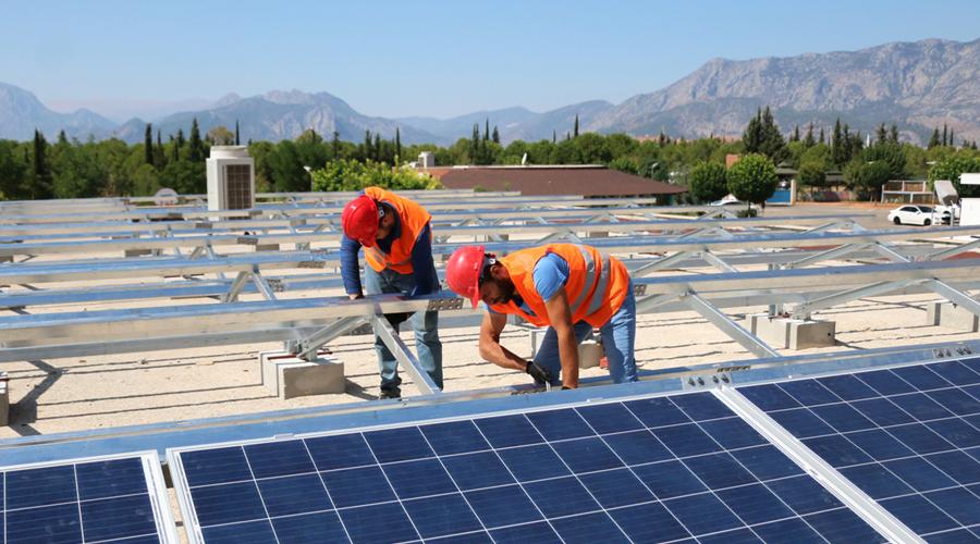 'Büyükşehir Özel Okulu' elektriğini kendi üretecek
