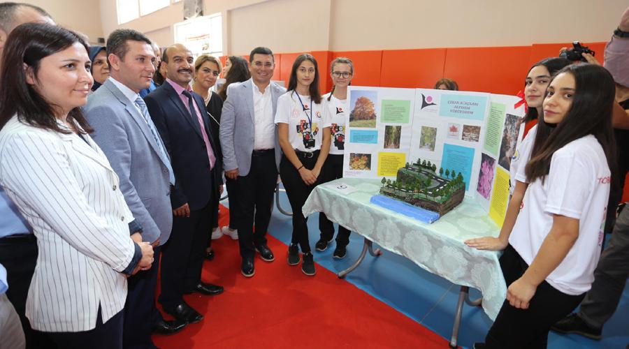"""Kepez'de """"TÜBİTAK Bilim Fuarı"""" sergisi"""