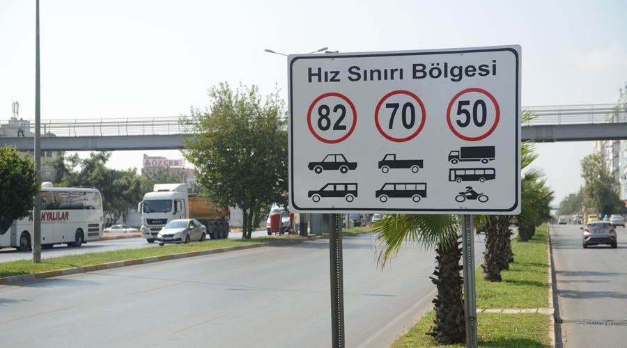 DİKKAT Antalya'da hız limiti değişti