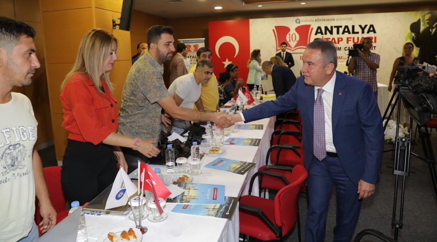 10. Antalya Kitap Fuarı 11 Ekim'de açılıyor