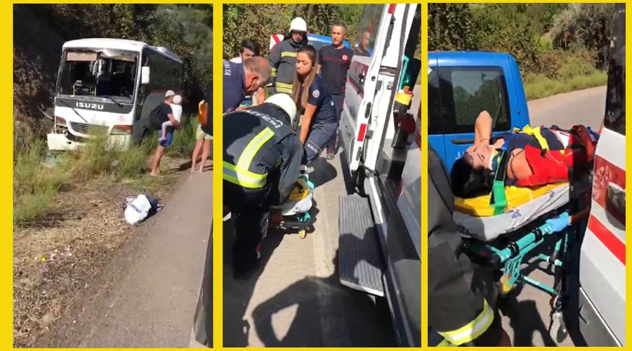 Rus turistlerin zor anları: 4 yaralı