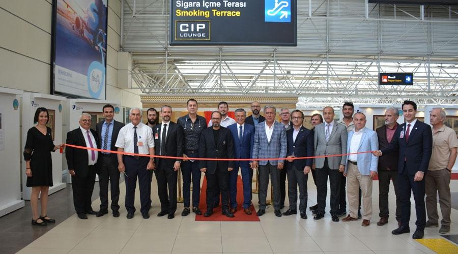 Antalya Havalimanı'nda anlamlı sergi