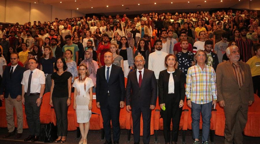 Akdeniz Üniversitesi'nde Ulu Önder Mustafa Kemal Atatürk Anıldı