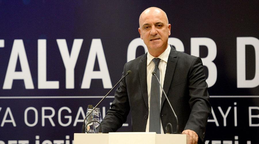 Antalya OSB  Dış Ticaret İstihbarat Merkezi açıldı