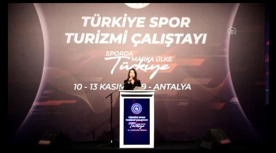 Türkiye Spor Turizmi Çalıştayı başladı